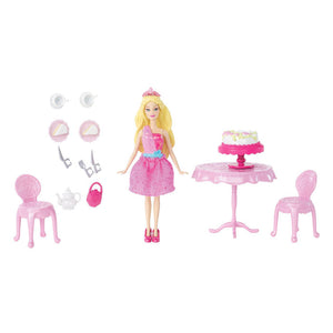 Barbie Toys - The Princess and The Popstar Mini Tori Doll Playset