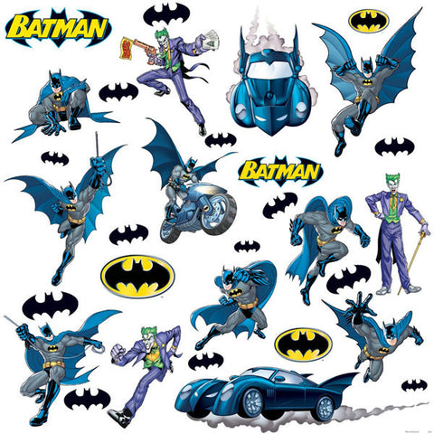 Batman Bedroom Decor - Gotham Guardian Wall Decals