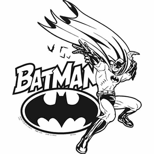 Batman Party Supplies - Color Your Own Poster