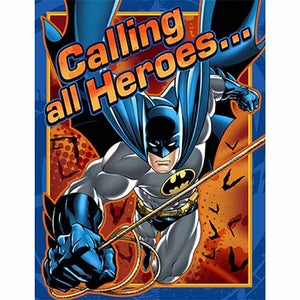 Batman Party Supplies - Postcard Invitations