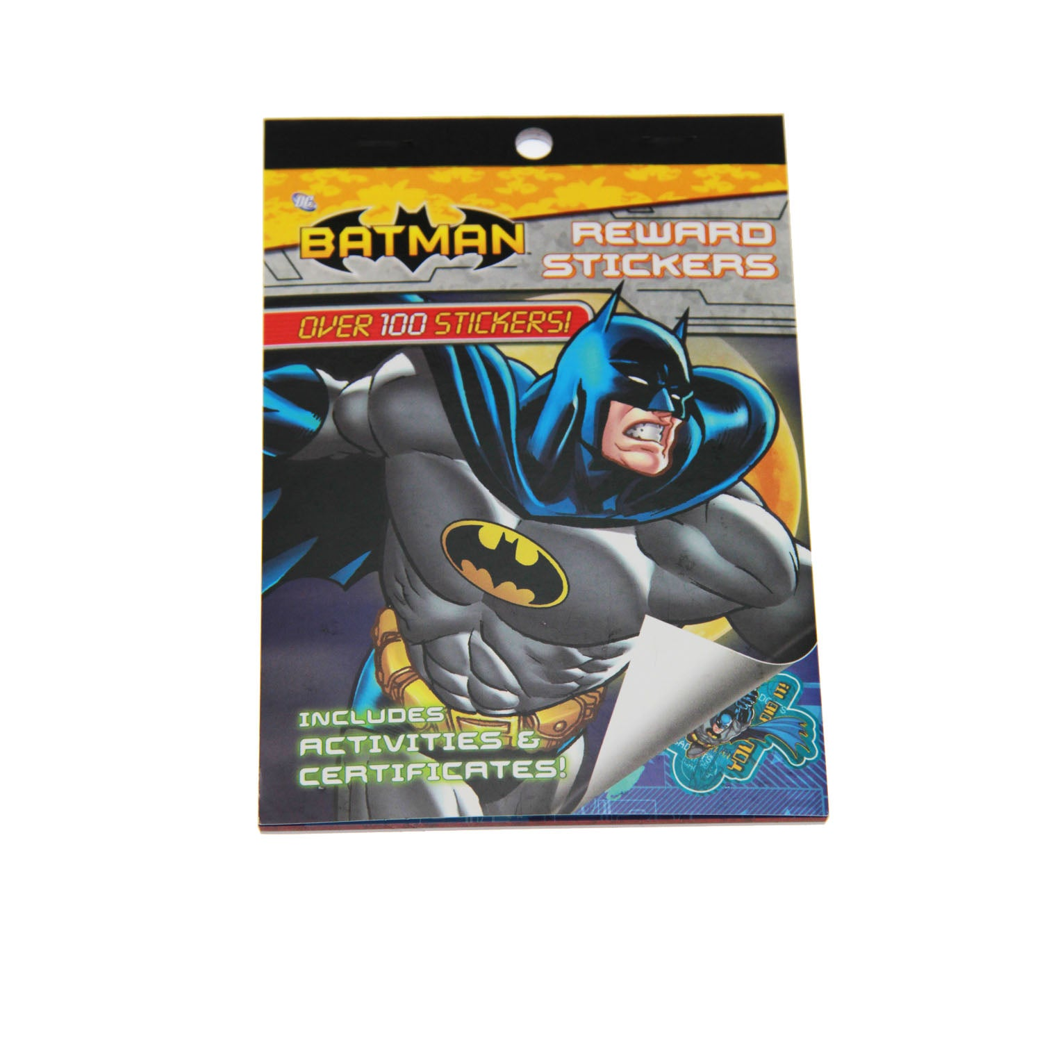 Batman Party Supplies - Reward Stickers book