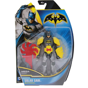Batman Toys - Batman Power Strike Solar Saw Figure