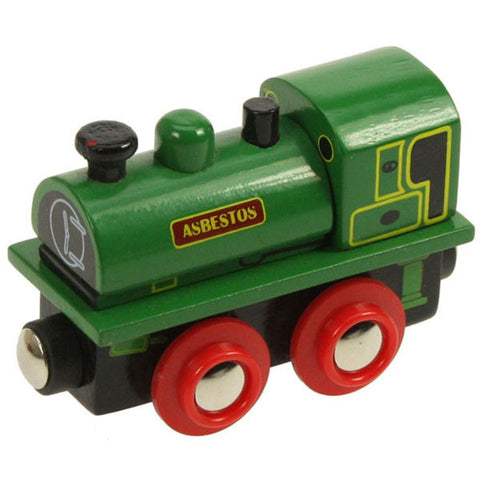 Bigjigs® Wooden Railway - Asbestos Engine