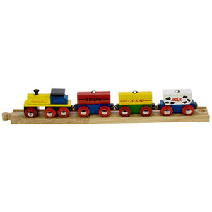 Bigjigs® Wooden Railway - Cereal Train