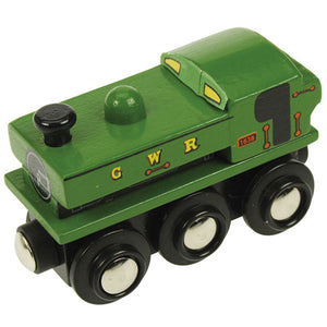 Bigjigs® Wooden Railway - Kent & East Sussex Pannier Green Engine