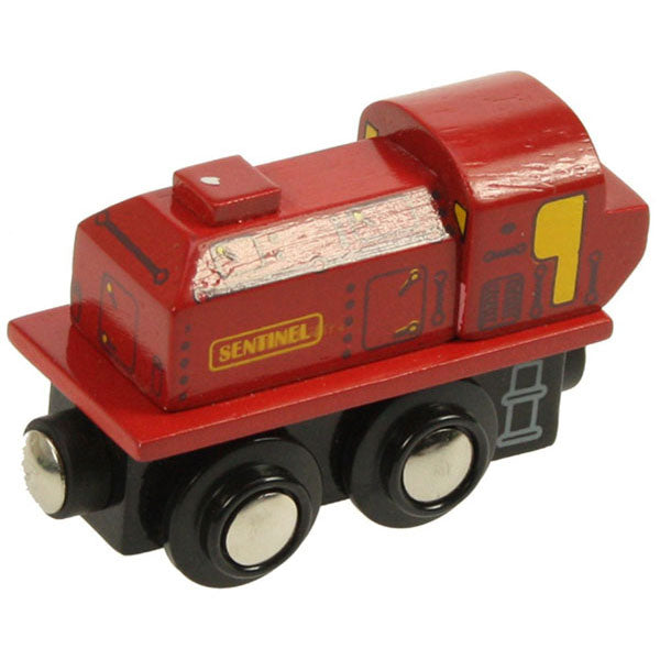 Bigjigs® Wooden Railway - Sentinel Engine