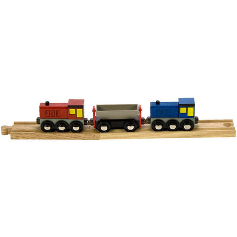Bigjigs® Wooden Railway - Shunters Train