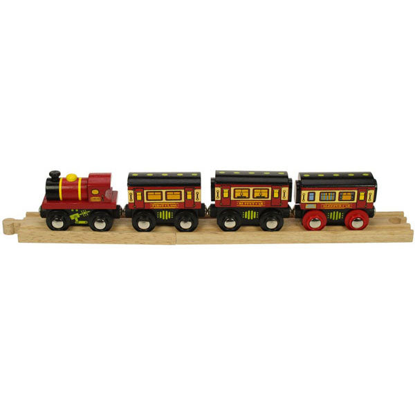 Bigjigs® Wooden Railway - The Sleeper Train