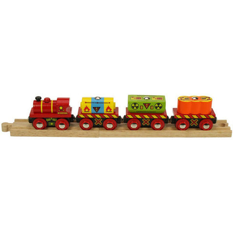 Bigjigs® Wooden Railway - Waste Train