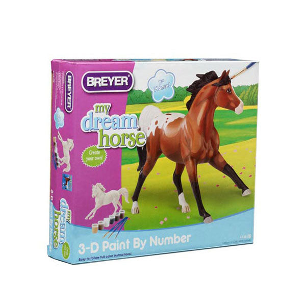 Breyer Activities & Crafts - Paint by Number Appaloosa 3D Activity Kit