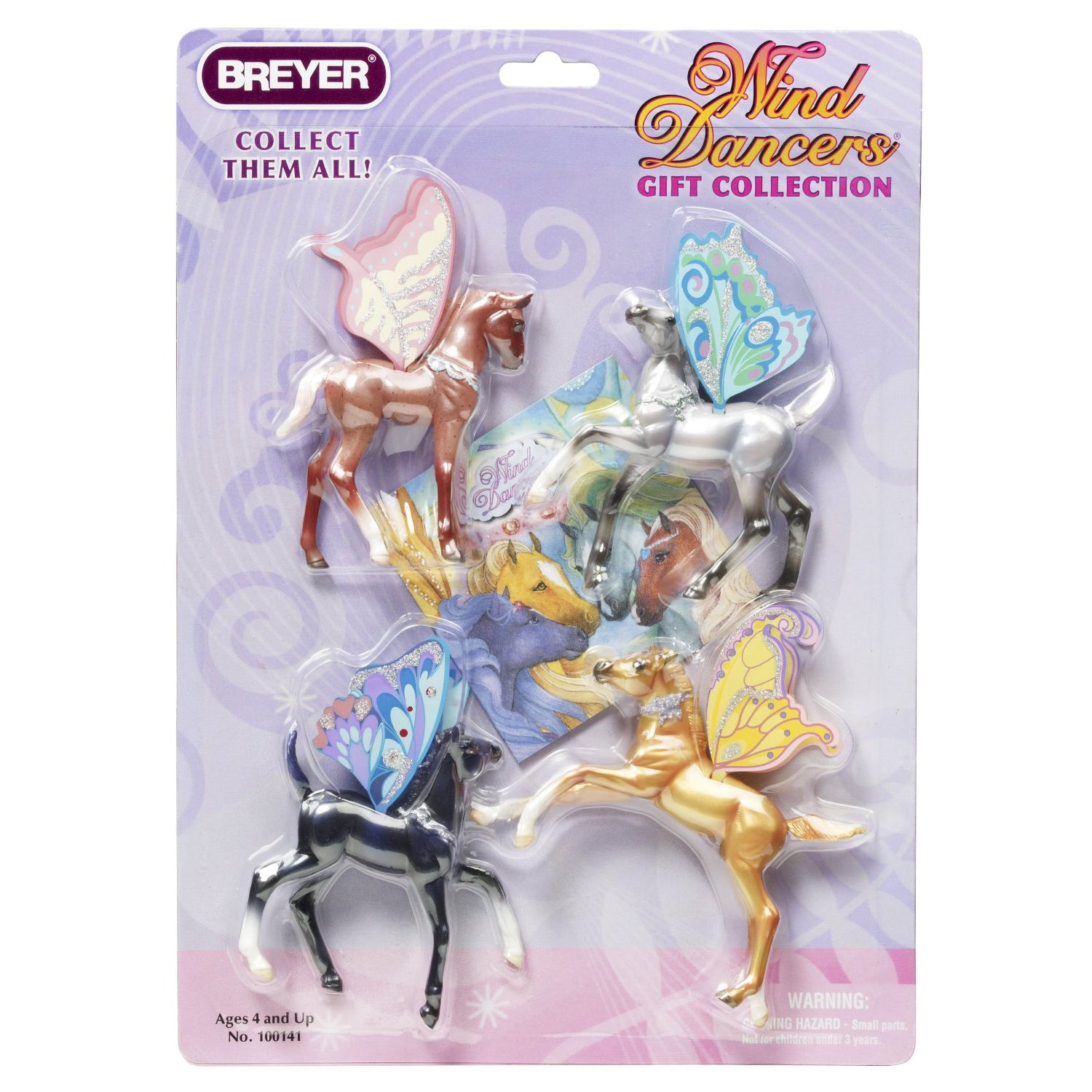 Breyer Wind Dancers™ - 4-Piece Gift Set - old