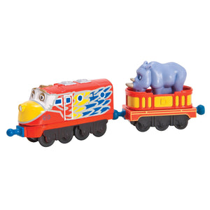 Chuggington Die-Cast - Parrot Wilson with Rhino Car