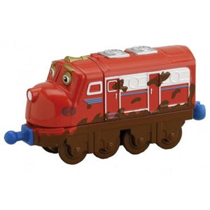 Chuggington Toys - Muddy Wilson Die-Cast Engine