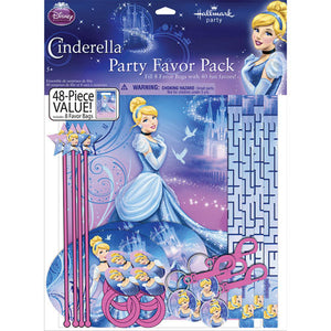 Cinderella Party Supplies - Party Favor Value Pack