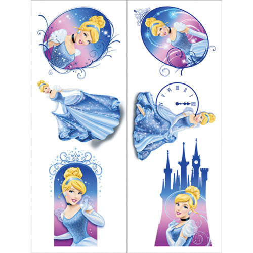 Cinderella Party Supplies - Temporary Tattoo Favors