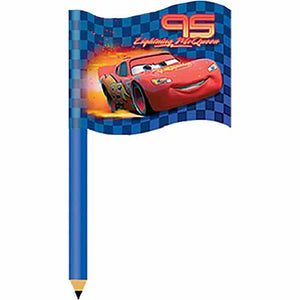 Disney Cars Party Supplies - Race Flag Pencil Topper