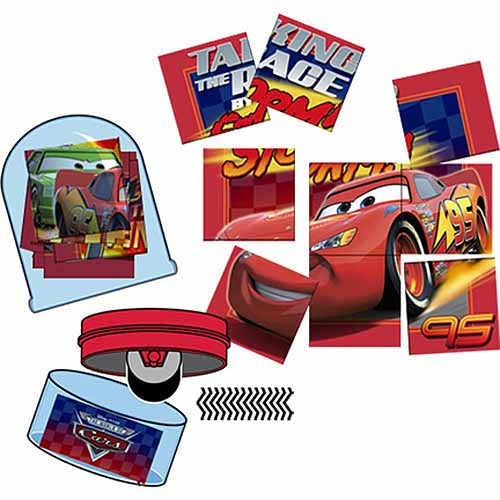 Disney Cars Party Supplies - Rolling Stampers