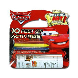 Disney Cars Toys - 10' Rolling Art