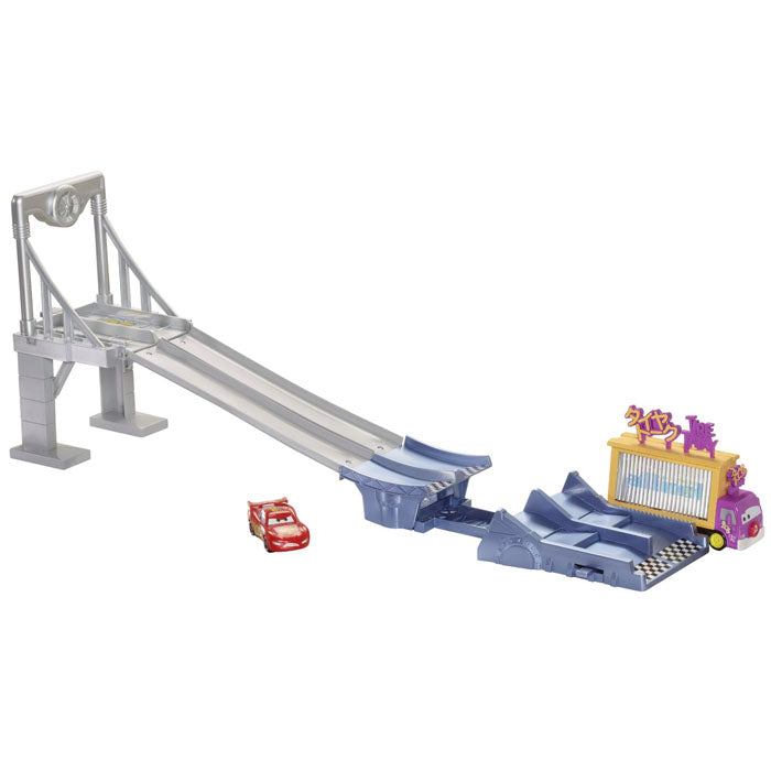 Disney Cars Toys - Photo Finish Raceway Track Set