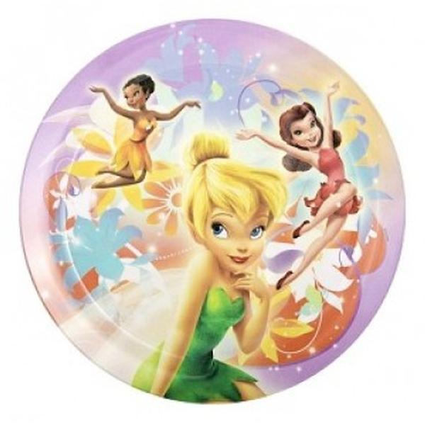 "Disney Fairies Dinnerware - 8"" Dinner Plate"