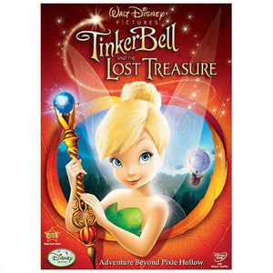 Disney Fairies Movies - Tinker Bell & The Lost Treasure