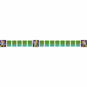 Disney Fairies Party Supplies - Tinkerbell Birthday Banner