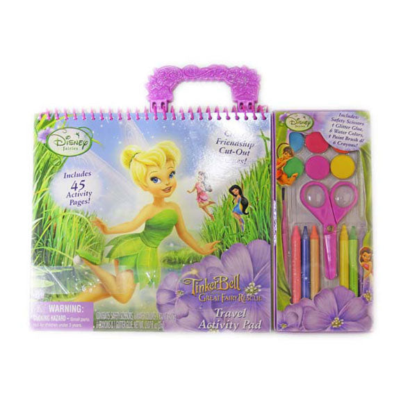Disney Fairies Toys - Travel Activity Pad
