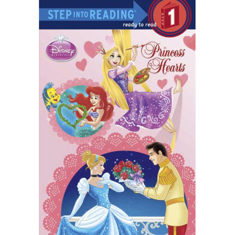Disney Princess Books - Princess Hearts