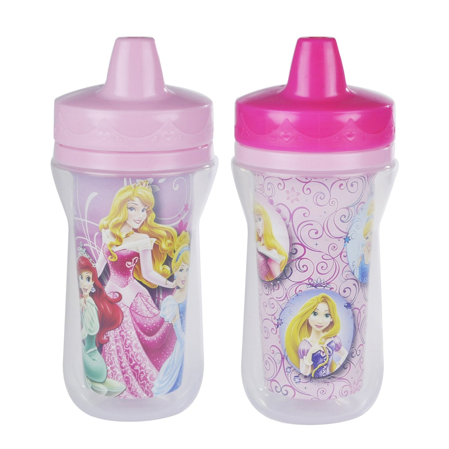Disney Princess Dinnerware - Insulated Sippy Cups
