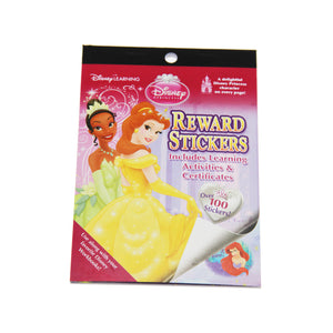 Disney Princess Party Supplies - Reward Stickers book