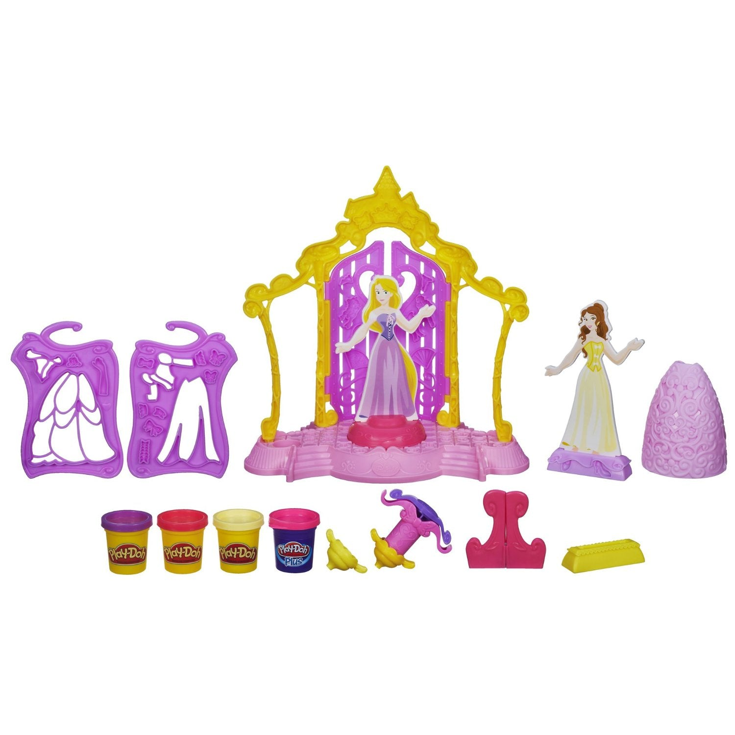 Disney Princess Toys - Design-a-Dress Play-Doch™ Boutique Set