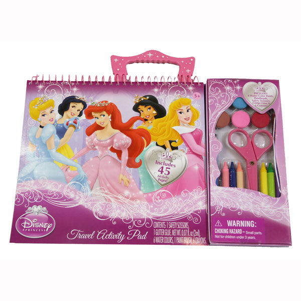 Disney Princess Toys - Travel Activity Pad