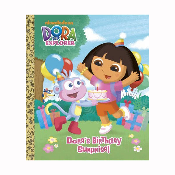 Dora the Explorer Books - Dora's Birthday Surprise Board Book
