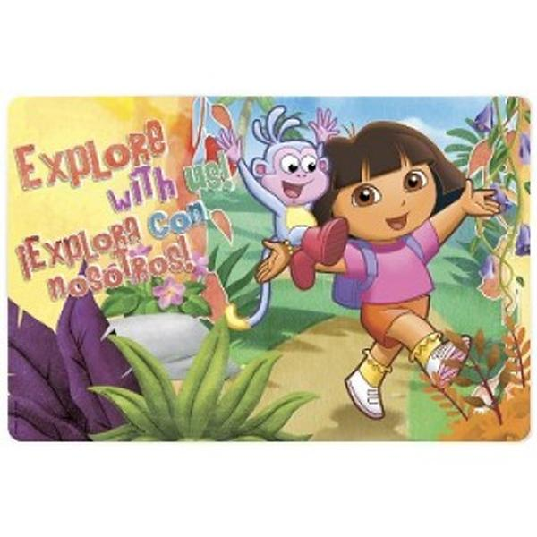 Dora the Explorer Dinnerware - Dora & Boots Placemat