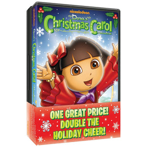 Dora the Explorer Movies - Dora's Christmas Carol Adventure & Dora's Christmas 2pk