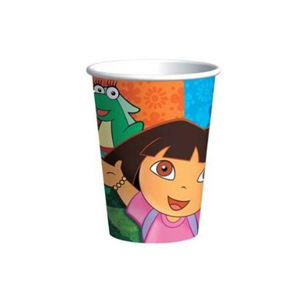 Dora the Explorer Party Supplies - 9oz Party Cups