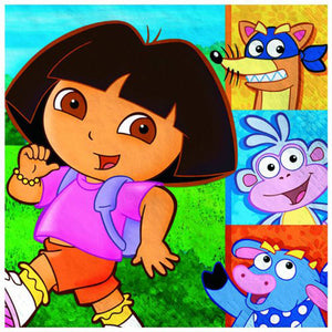 Dora the Explorer Party Supplies - Luncheon Napkins
