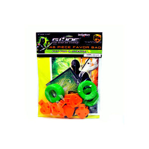 G.I. Joe Party Supplies - 48 Piece Party Favor Pack