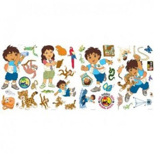 Go Diego Go Bedroom Decor - Diego & Friends Wall Stickers