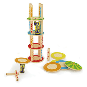 Hape Bamboo Games - Crazy Tower