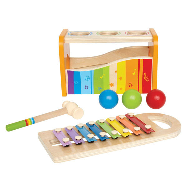 Hape Early Melodies - Pound and Tap Bench