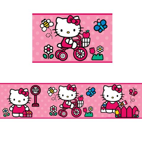 Hello Kitty Bedroom Decor - World of Hello Kitty Wall Border