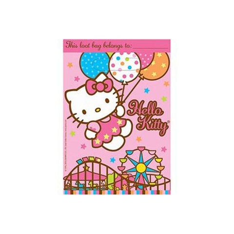 Hello Kitty Party Supplies - Loot Bags