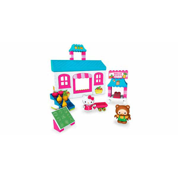 Hello Kitty Toys - Mega Bloks Fruit Market