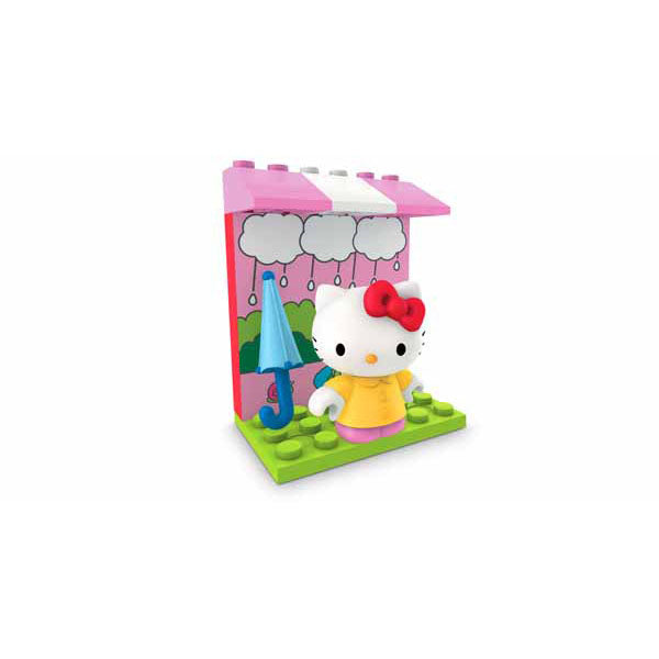 Hello Kitty Toys - Mega Bloks Rainy Day Kitty