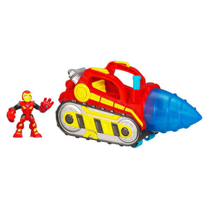 Iron Man Toys - Playskool Heroes™ Repulsor Drill™ Vehicle with Iron Man™ Figure