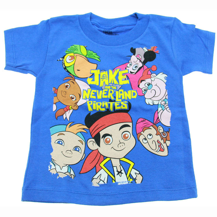 Jake and the Never Land Pirates Clothing - Never Land Characters T-Shirt