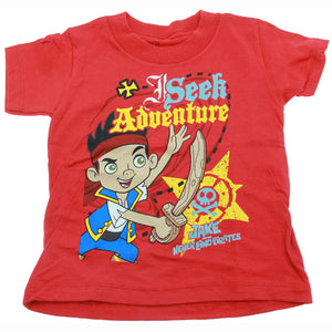 Jake and the Never Land Pirates Clothing - Seek Adventure T-Shirt