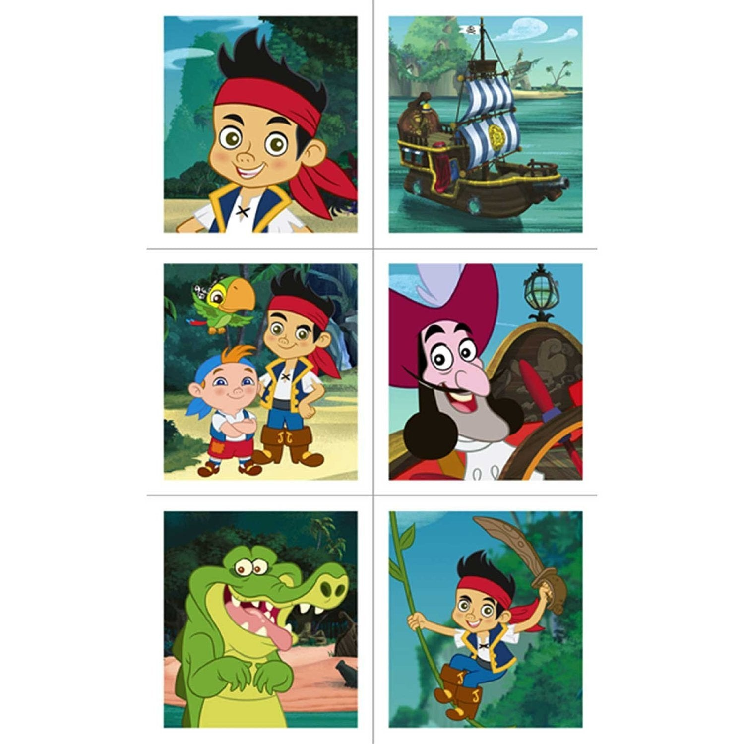 Jake and The Never Land Pirates Party Supplies - Stickers