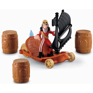 Jake and The Never Land Pirates Toys - Hook's Sailwagon
